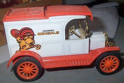 1980S Cincinnati Bengals Huddles Ertl Die Cast Truck Bank