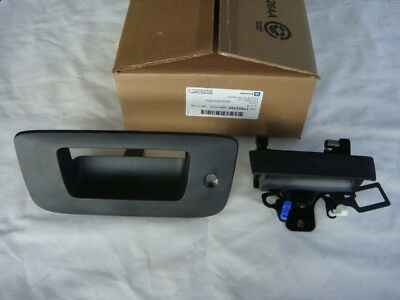GMC SIERRA TRUCK PICKUP 2007 2008 2009 2010 2011 REAR TAILGATE HANDLE KIT NEW
