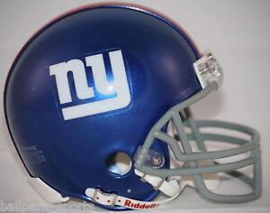 NEW-YORK-GIANTS-Riddell-VSR4-Mini-Helmet