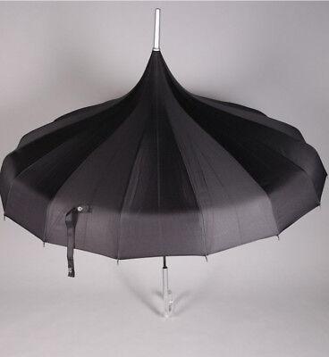 2-x-Elegant-Wedding-Umbrella-Edwardian-Parasol-5-COLOURS