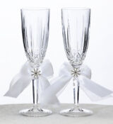 Crystal Wedding Toasting Glasses