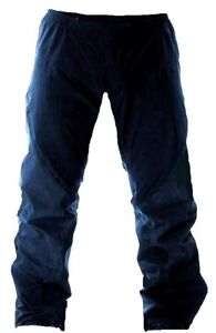 NAVY-WATERPROOF-WINDPROOF-TROUSERS-Ladies-14-16-blue-hiking-trek-bottoms-Large