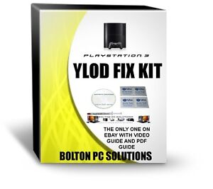 FAULTY PS3 YLOD REPAIR KIT does not need flux for this