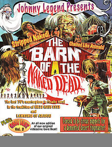 BARN OF THE NAKED DEAD AUTOGRAPHED  NEW & COLOR  POSTER