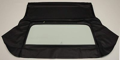 Olds 88,98 Delta Royale 71-76 Conv.rear Glass - Black