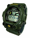 Men's Plastic Case Digital 100 m (10 ATM) Wristwatches