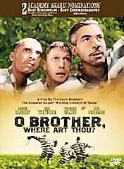 O Brother, Where Art Thou? (DVD, 2001, W...