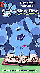 Blues Clues - Story Time (VHS, 1998) | eBay