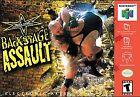 WCW Backstage Assault Video Games