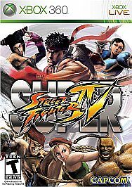 Super Street Fighter IV Xbox 360 Game Only