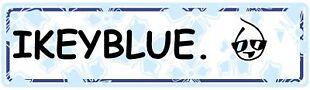 Ikey Blue=Happy You