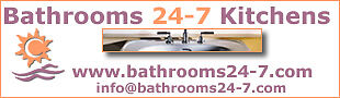 BATHROOMS 24-7 KITCHENS