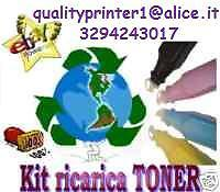 QUALITY PRINTER KIT RICARICA TONER