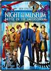 Night at the Museum: Battle of the Smithsonian (DVD, 2009) (DVD, 2009)