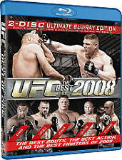 Ultimate Fighting Championship UFC: Best of 2008 Blu-ray NEW factory sealed