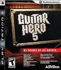 Guitar Hero 5 (Sony PlayStation 3, 2009)