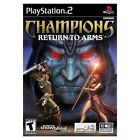 Champions: Return to Arms (Sony PlayStation 2, 2005) - European Version