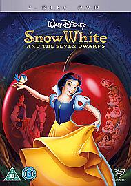 SNOW-WHITE-THE-SEVEN-DWARFS-DVD-REG-2-UK-PAL-NEW-SEALED