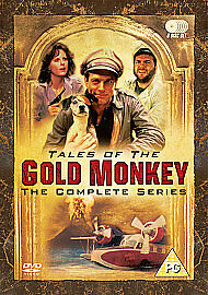 Tales Of The Gold Monkey Complete Series DVD NEW SEALED