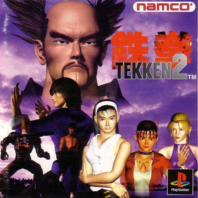 Tekken 2 (Sony PlayStation 1, 1996) Platinum Edition PS1 PS2 PS3 Rare (K55)