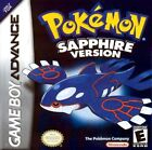 Pokémon: Sapphire Version (Nintendo Game Boy Advance, 2003) - European Version