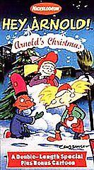 Hey Arnold - Arnold's Christmas [VHS] VHS Tape New   eBay