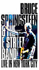 Bruce Springsteen  the E Street Band - Live in New York City (VHS, 2001)