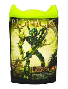 Lego Bionicle Glatorian Legends Vastus 8986 NIB