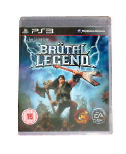 Brutal-Legend-NEW-FACTORY-SEALED-PS3-Sony-Playstation-3-Game-PAL-UK-FREEPOST