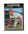 1971 Topps Steve Carlton St. Louis Cardinals #55 Baseball Card