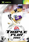 Triple Play 2002 (Microsoft Xbox, 2002)