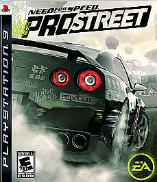 Need For Speed ProStreet Sony PlayStation 3 2007