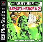 Army Men: Sarge's Heroes 2  (Sony PlayStation 1, 2000) (2000)