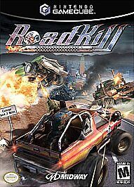 NINTENDO GAMECUBE GAME ROADKILL COMPLETE W CASE & MANUAL MIDWAY Wii ROAD KILL >>