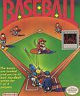 Baseball (Nintendo Entertainment System, 1985)