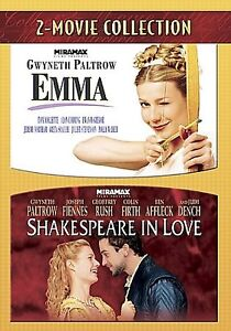2-for-1-Emma-Shakespeare-In-Love-DVD-2007-2-Movie-Collection-NEW