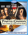Pirates of the Caribbean: The Curse of the Black Pearl (Blu-ray Disc, 2007, 2-Disc Set)
