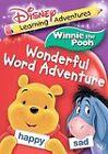 Winnie The Pooh: Winnie The Pooh Wonderful Word Adventure (DVD, 2006)