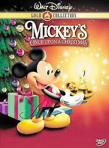 mickeys once upon a christmas dvd 2003 gold collection edition - Mickeys Christmas