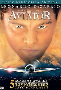 'The Aviator' with Leonardo DiCaprio (DVD, 2005, 2-Disc Set, Widescreen) New