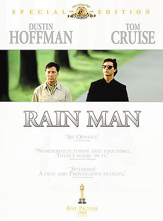 Rain Man (DVD, 1988, Special Edition, WS) Dustin Hoffman, Tom Cruise  LN