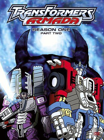 Transformers Armada: Season 1 Part 2 (DVD, 2006, 4-Disc Set)