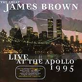 James Brown CD. Live at the Apollo 1995
