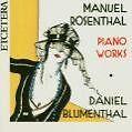 Klavierwerke von Daniel Blumenthal (2014)