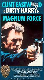 Magnum-Force-VHS-1973-Clint-Eastwood-Dirty-Harry-Hal-Holbrook-Mitchell-Ryan-R