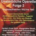 Unsterbliche Operette Folge 3 von Various Artists (2004)