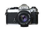 Built - in Flash Manual Focus SLR Film Cameras