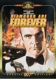 Diamonds Are Forever DVD 2003 Sean Connery as James Bond 007 special edition - <span itemprop=availableAtOrFrom>Kirkwall, United Kingdom</span> - Diamonds Are Forever DVD 2003 Sean Connery as James Bond 007 special edition - Kirkwall, United Kingdom
