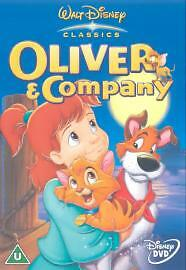 Walt Disney Classics  Oliver And Company  Genuine UK Region 2 DVD - <span itemprop='availableAtOrFrom'>Lincolnshire, United Kingdom</span> - Walt Disney Classics  Oliver And Company  Genuine UK Region 2 DVD - Lincolnshire, United Kingdom