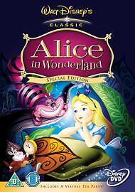 Alice In Wonderland (DVD, 2005) Walt Disney Classic Special Edition